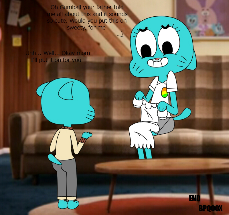 the gumball larry amazing world of Dragon ball z xv xenoverse