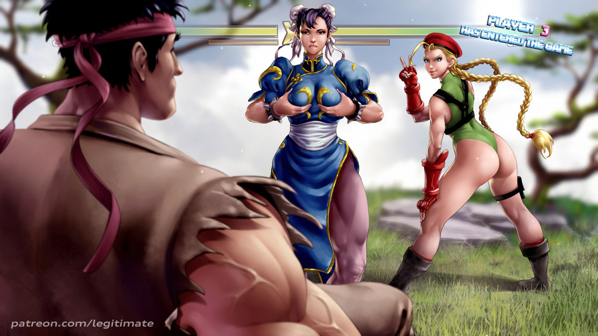 li cammy and chun street fighter Tales of androgyny by majalis