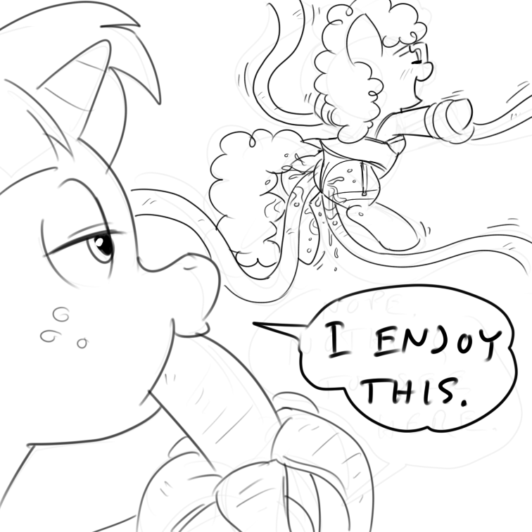 pony my tentacle little hentai Buster whelp of the destruction swordsman