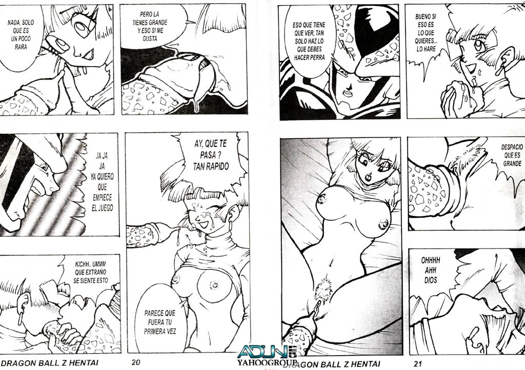 cell ball) (dragon Blow job in the shower