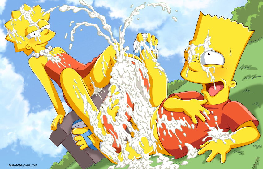 lisa and simpson naked bart My life as a teenage robot crossover